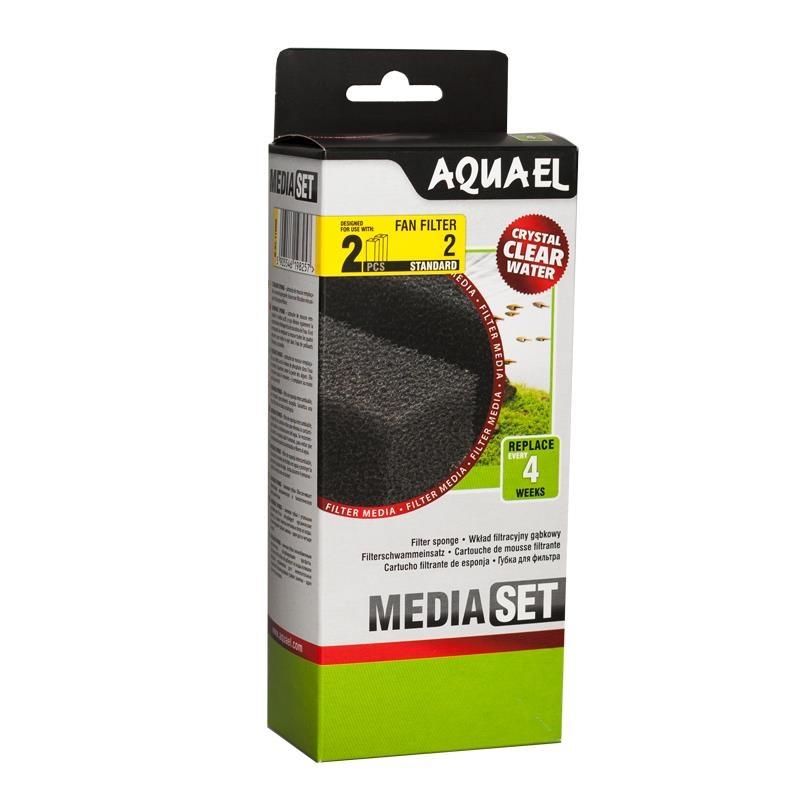 AquaEL Filterschwamm FAN 2 2 Stück