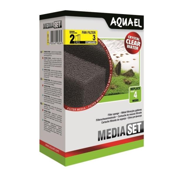AquaEL Filterschwamm FAN 3 2 Stück