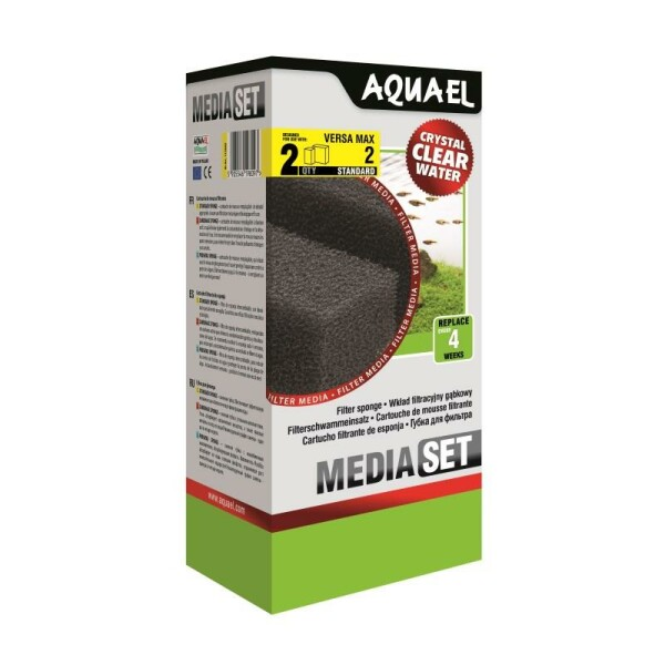 AquaEL filter sponge Versamax FZN 2 2 pieces