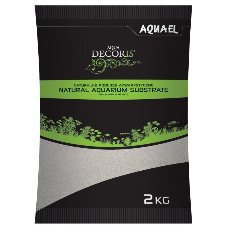 AquaEl Aquarium Gravel Quartz Sand 0,1-0,3mm, 2kg and 10kg