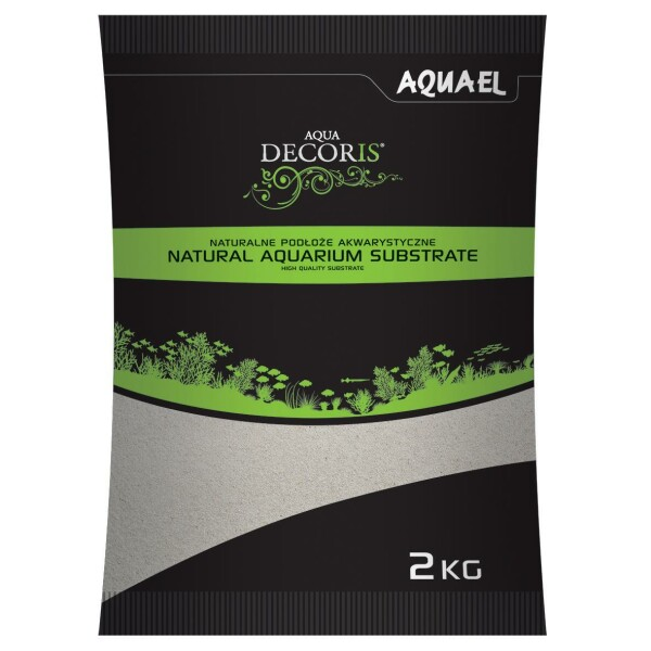 AquaEl Aquarienkies Quarzsand 0,1-0,3mm, 2kg und 10kg