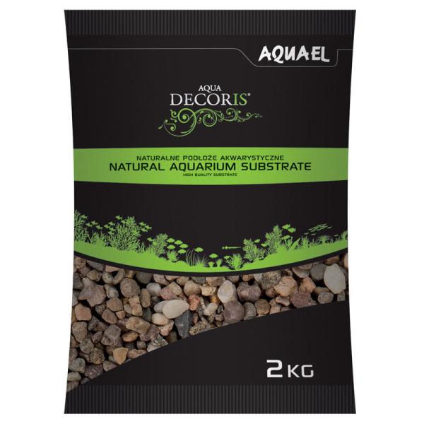 AquaEL Aquarienkies naturbunt, 5-10 mm, 2 kg