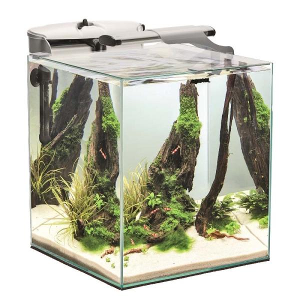 AquaEL Shrimp Set Duo 49 l weiß