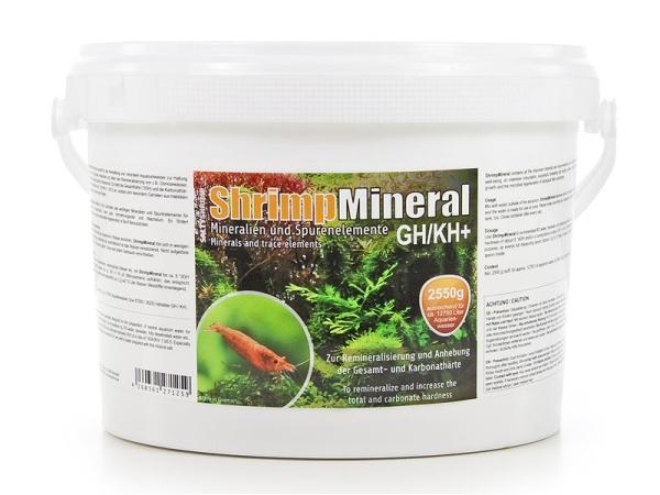 SaltyShrimp-Mineral GH/KH+, 2550g Aufhärtesalz, Garnelen,