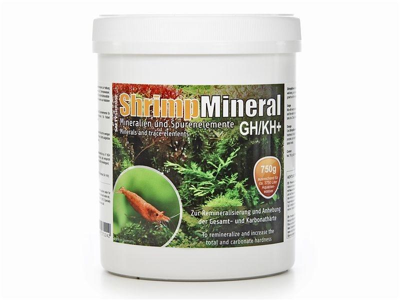 SaltyShrimp-Mineral GH/KH+, 750g Aufhärtesalz, Garnelen,