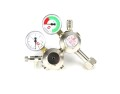 Hiwi double chamber CO2 pressure reducer with RV