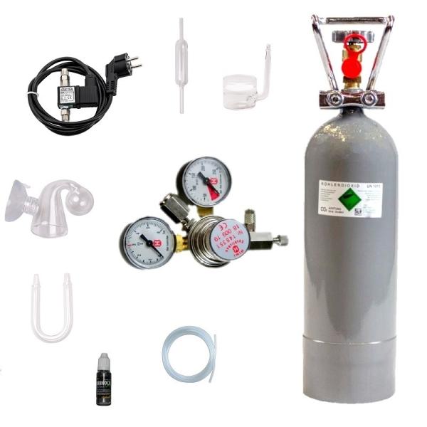 CO2 Anlage Hiwi 2000 Profi + Magnetventil