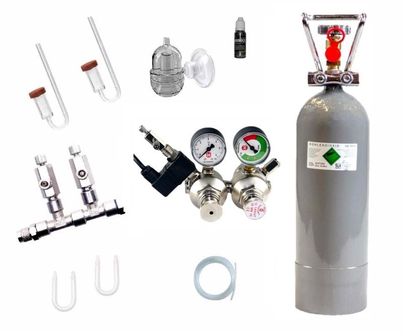 CO2 Anlage Hiwi 2000 Ultimate Pro bis 800 L