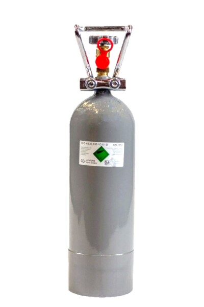 CO2 Anlage Hiwi 2000 Ultimate Pro bis 800 L fest montiertes Magnetventil