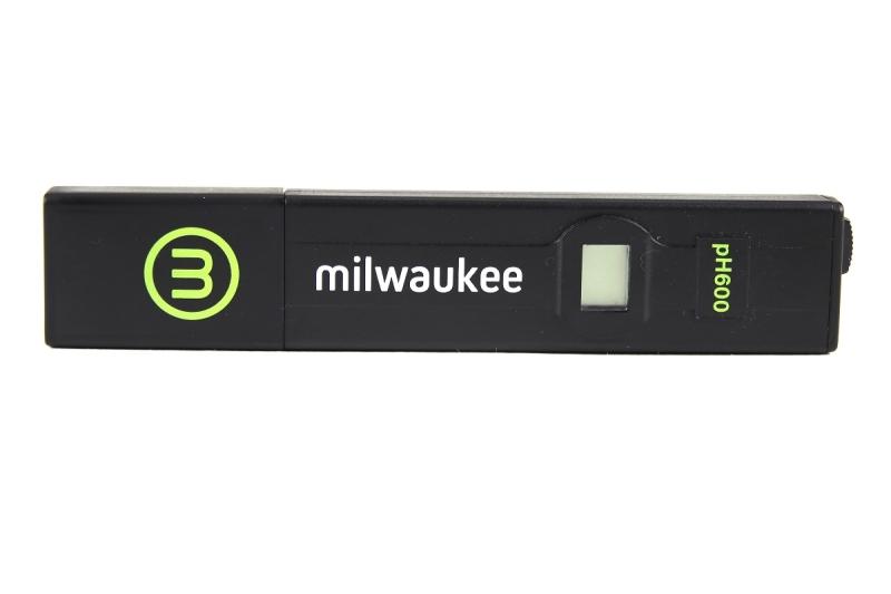 Milwaukee pH600-Test für Aquarien +/- 0,1 pH Genauigkeit