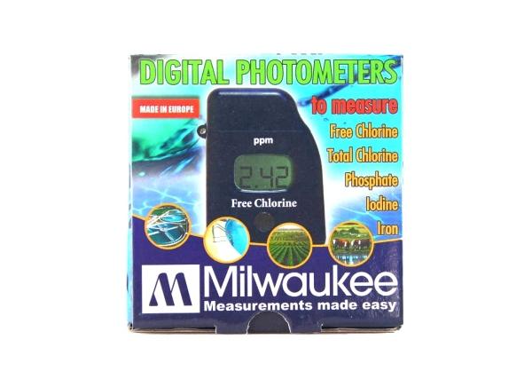 Milwaukee photometer for iodine