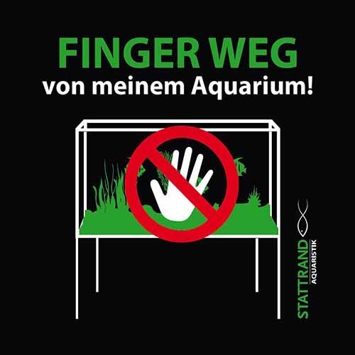 Sticker Finger Weg! Hand