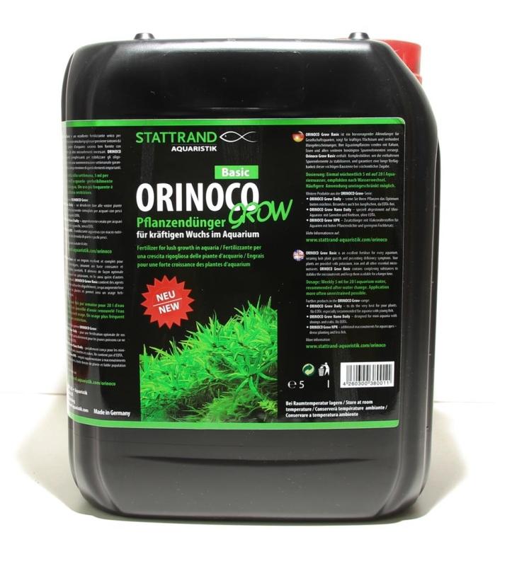 OrinocoGrow basic iron complete fertilizer 5L