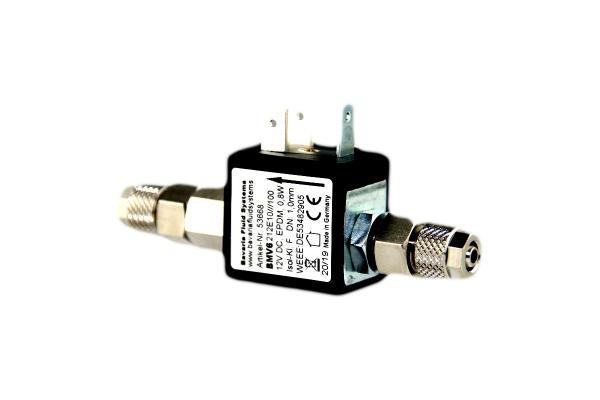Bavaria Fluid Systems Magnetventil Nachtabschaltung 12V mit Rückschlagventil