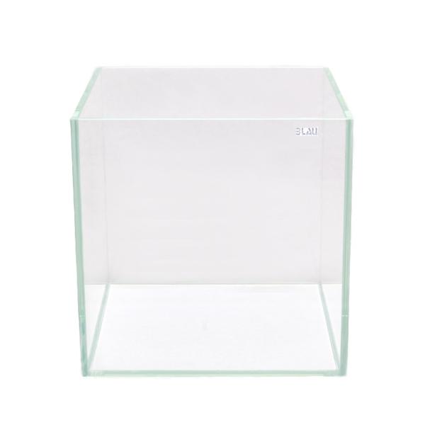 BLAU Cubic Aquascaping 42 Liter Cube Weißglas...