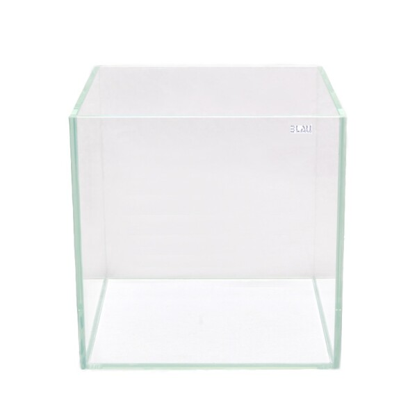 BLAU Cubic Aquascaping 64 Liter Cube Weißglas...