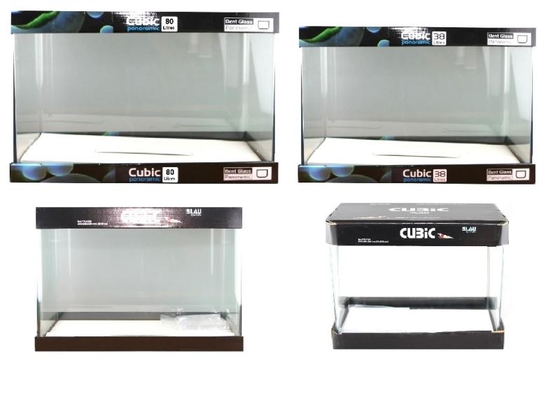 BLAU Cubic Nano Rechteckbecken verschiedene Größen 13-80 L