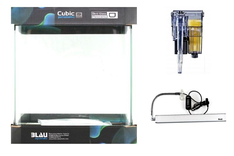 Blau Cubic Nano CUBE Komplettset 10-32 L