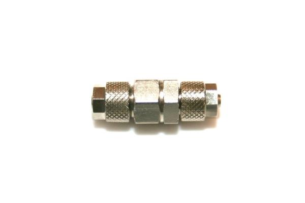 STATTRAND CO2 Rückschlagventil Mini 4/6 Schlauchanschluss