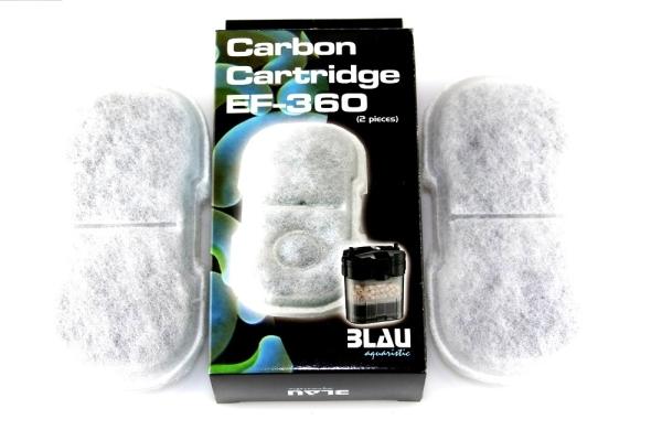 BLAU Filterschwamm Aktivkohlefilter EF 360
