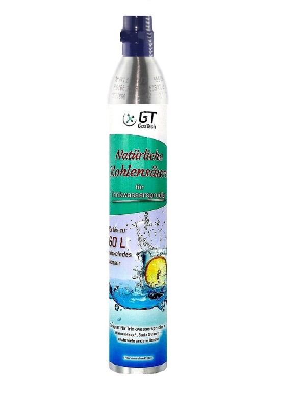 STATTRAND CO2 Mehrweg-Vorratsflasche 425g kompatibel Sodastream
