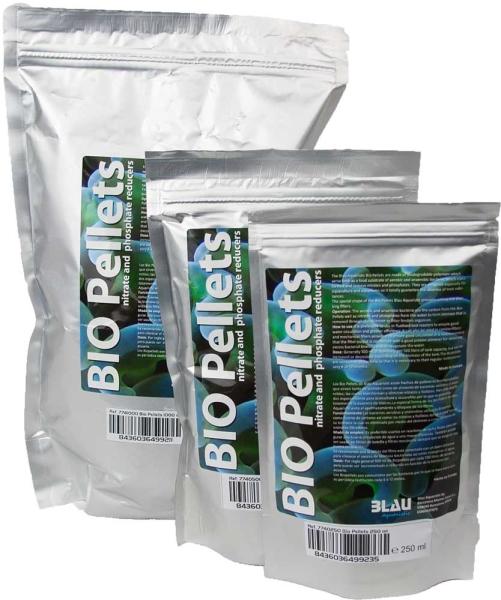 Blau Biopellets Nitratreduktion