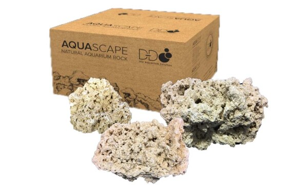 D-D Aquascaping Rock Large 20kg Box Meerwassergestein