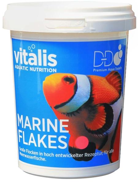 Vitalis marine flakes different sizes