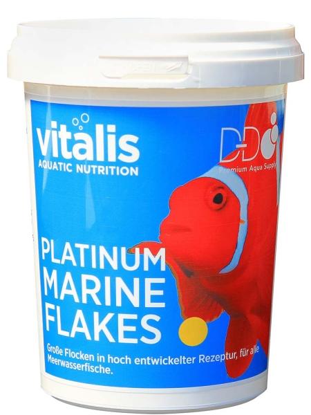 Vitalis Platinum Marine Flakes different sizes