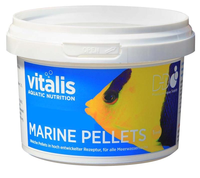 Vitalis Marine Pellets different sizes