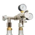 Hiwi Hochdruck CO2 Wand Verteiler für Soda Wassersprudelflaschen 2-ltg