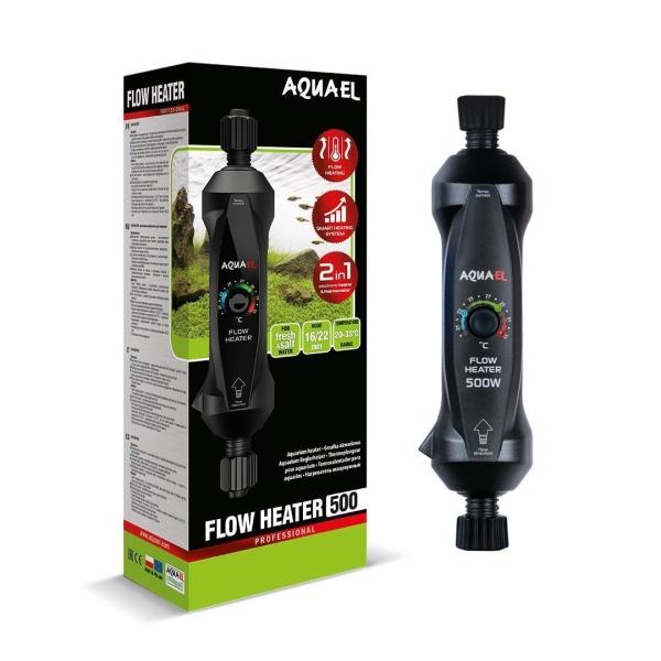 Aquael Flow Heater inline heater 300 or 500 Watt