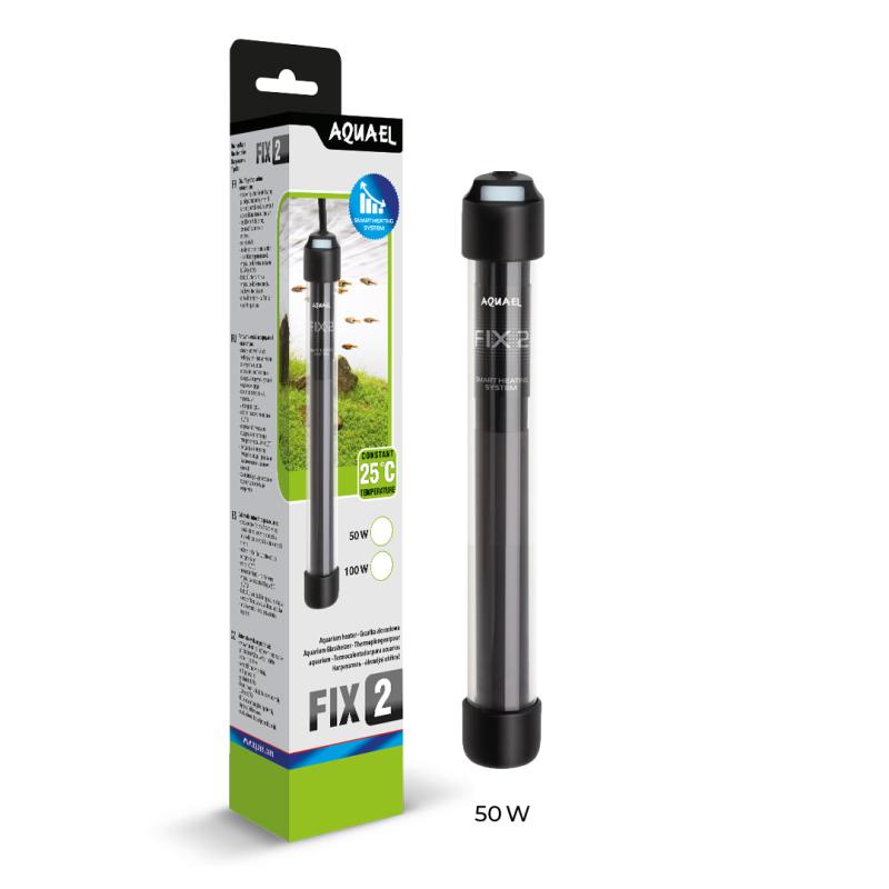 Aquael Heizer Fix 2 50 Watt 10-50 l