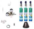 CO2 Anlage Hiwi 425 Profi mit Wassersprudler-Flasche (kompatibel zu Sodastream u.a.)