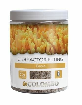 COLOMBO Ca Reactor Filling