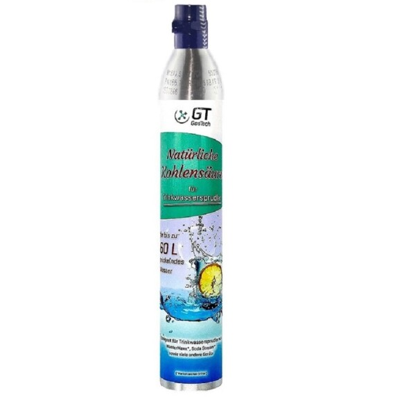 CO2 Anlage Acryl Hiwi 425 Profi mit Wassersprudler-Flasche (kompatibel zu Sodastream u.a.)