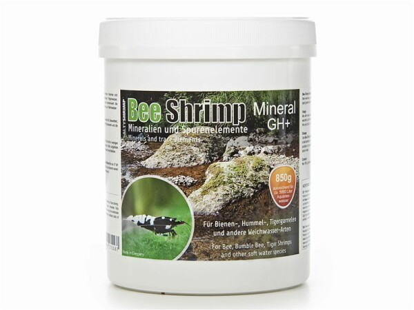 SaltyShrimp - Bee Shrimp Mineral GH+, 850 g Aufhärtesalz, Garnelen, Weichwasser