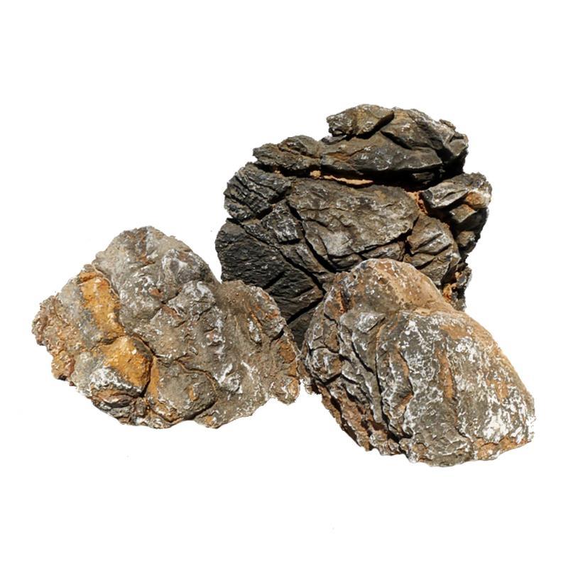 OrinocoDeco Pagoden Stein (Ancient Stones), schwarz 1kg