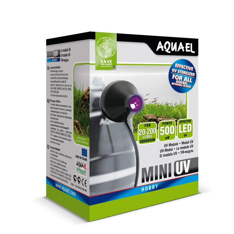 AquaEL UV Lampe Sterilisator UV mini 0,5 W