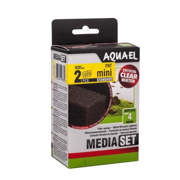 AquaEL Filterschwamm PAT Mini 2 Stück