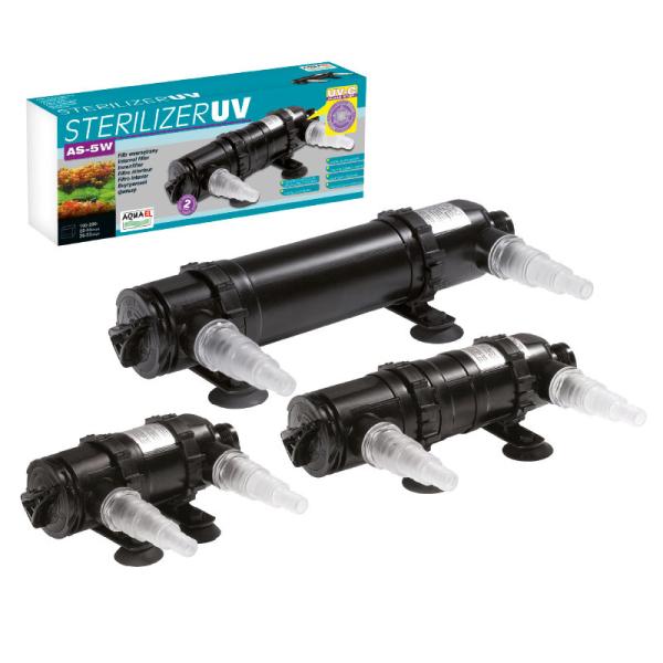 AquaEL UV Lampe Sterilisator UV AS 5W
