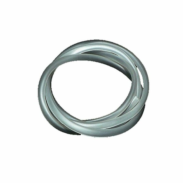 CO2-Silikonschlauch 4/6mm, semitransparent, 1m