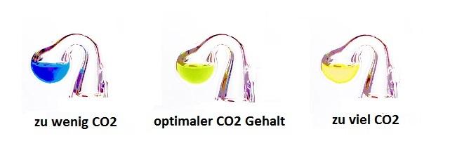 CO2-Farbumschlag